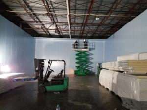 Building a produce distribution drive in Cooler